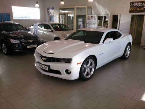 Occasion Chevrolet Camaro Carburant Essence Annonce Chevrolet