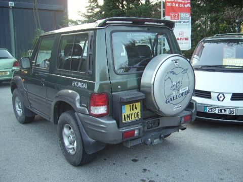 occasion hyundai galloper carburant diesel annonce hyundai galloper en corse n 702 achat. Black Bedroom Furniture Sets. Home Design Ideas